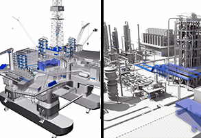 Virtual Oil Rig and Refinery